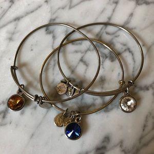 🔥 Bundle of 3 Alex and Ani Bangle Bracelet